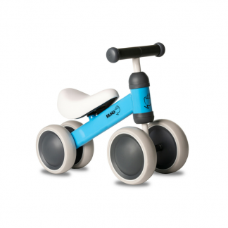Bicicleta Correpasillos de Aprendizaje Mundo Petit - Lateral Azul