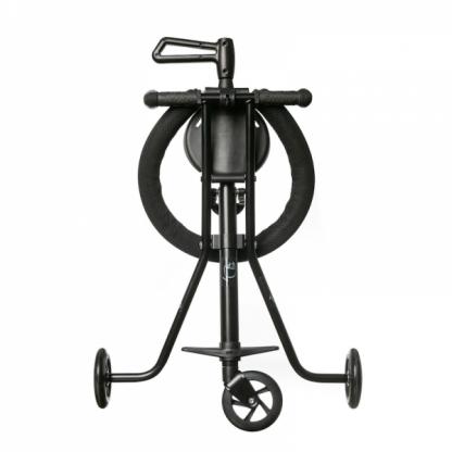 Triciclo Plegable Ultra Ligero Mundo Petit - Negro Frontal