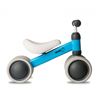 Bicicleta Correpasillos de Aprendizaje Mundo Petit - Azul Perfil