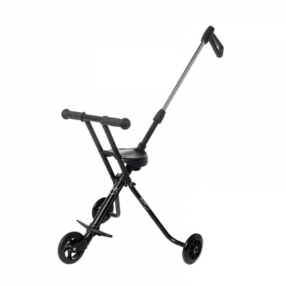 Triciclo Plegable Ultra Ligero Mundo Petit - Negro Lateral
