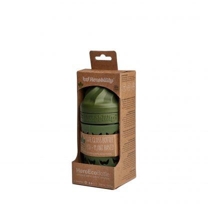 Biberones de Cristal Herobility - Verde, 220 ml, Empaque