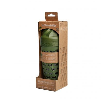 Biberones de Cristal Herobility - Verde, 320 ml, Empaque