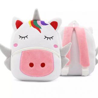 Mochilas para Niños Animales 3D - Unicornio - Frontal y Posterior