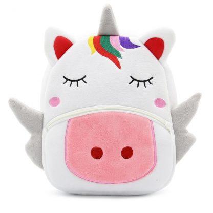 Mochilas para Niños Animales 3D - Unicornio - Frontal
