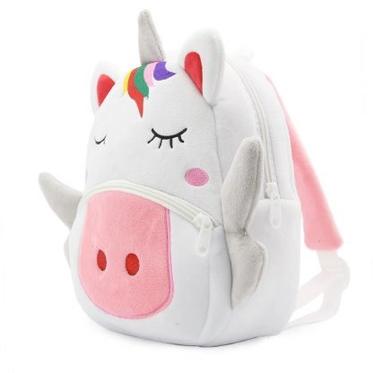 Mochilas para Niños Animales 3D - Unicornio - Lateral