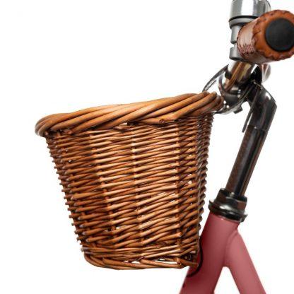"""Bicicleta Sin Pedales de Aprendizaje Mundo Petit 12'5"""" - Rosa Cesta"""