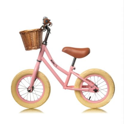 "Bicicleta Sin Pedales de Aprendizaje Mundo Petit 12'5"" - Rosa Perfil"
