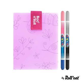 Porta Alimentos Boc'n'Roll - Roll'Eat - Paint Camaleon 2