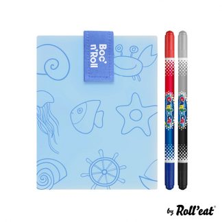 Porta Alimentos Boc'n'Roll - Roll'Eat - Paint Sea