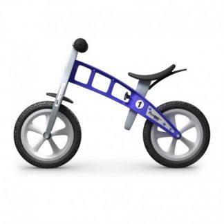 Bicicleta Sin Pedales - First Bike Basic - Azul, Perfil