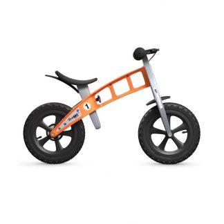 Bicicleta Sin Pedales First Bike Cross - Naranja, Perfil