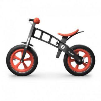 Bicicleta Sin Pedales - First Bike Edición Limitada - Naranja, Perfil