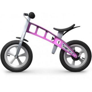 Bicicleta Sin Pedales First Bike Street - Rosa, Perfil