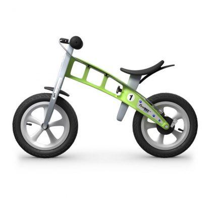 Bicicleta Sin Pedales First Bike Street - Verde, Perfil