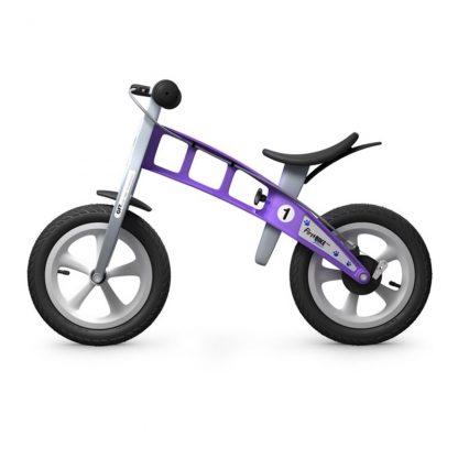 Bicicleta Sin Pedales First Bike Street - Morada, Perfil