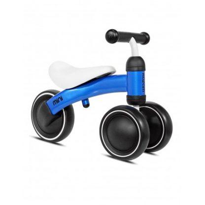 Bicicleta Correpasillos de Aprendizaje - Azul - Mini Kazam, Lateral