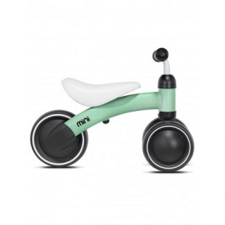 Bicicleta Correpasillos de Aprendizaje - Green - Mini Kazam, Perfil