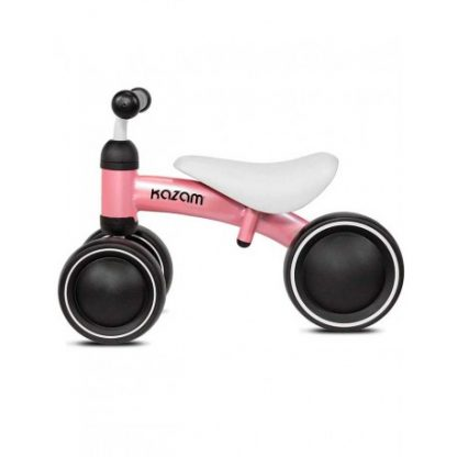 Bicicleta Correpasillos de Aprendizaje - Rosa - Mini Kazam, Perfil
