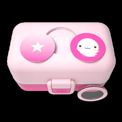 Caja Bento Infantil Monbento Tresor - Moutarde Pink