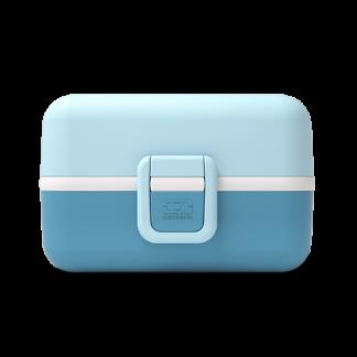 Caja Bento Infantil Monbento Tresor - Moutarde Blue 2