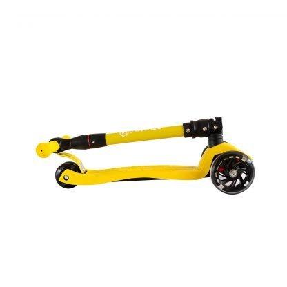 patinete-niños-amarillo-plegable