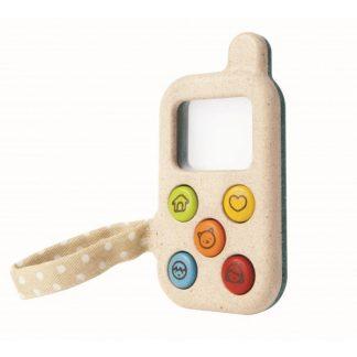 telefono de juguete-telefono de madera-telefonoecologico-plantoys-janabanana