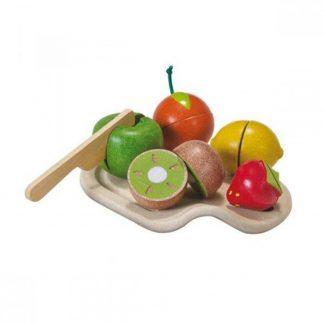 Surtido de Frutas de Madera Plantoys