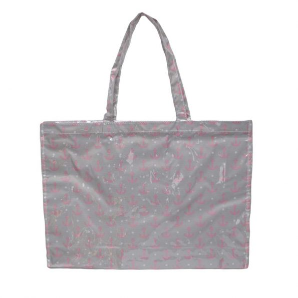 bolsa de playa impermeable especial anti anclas rosas JanaBanana