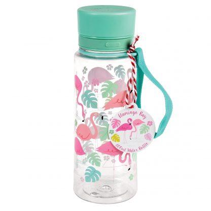 botella plastico 600ml flamencos rex london janabanana