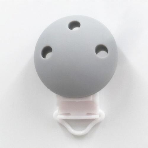 clip silicona gris
