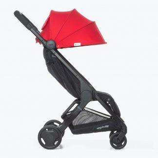 silla ligera de paseo ergobaby metro color rojo