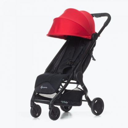 silla ligera de paseo ergobaby metro color rojo 2