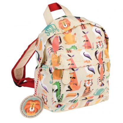 mochila infantil animales rex london janabanana