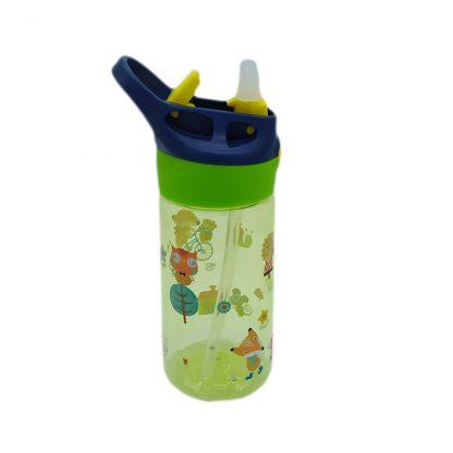 botella con boquilla para colegio pereza