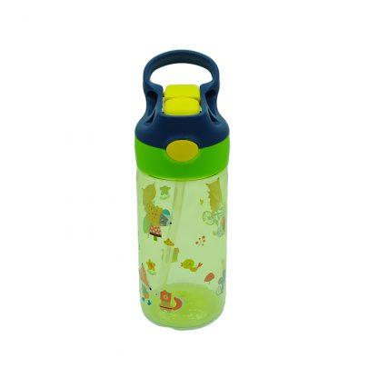 botella de tritan con boton animales 450ml