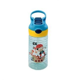 botella de tritan con boton pirata 450ml