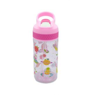 botella para niños tritan con boquilla frutas