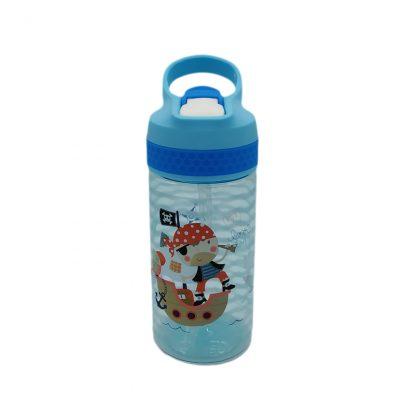 botella para niños tritan con boquilla pirata