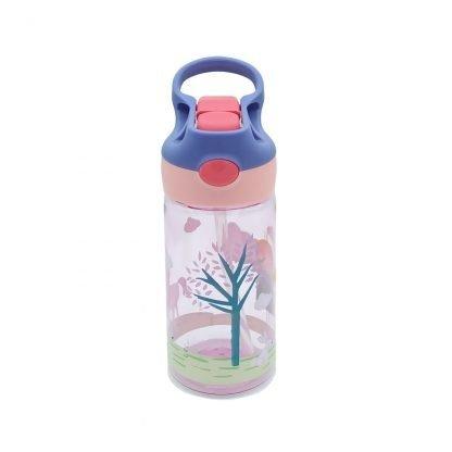 botella de tritan con boton princesa 450ml 2