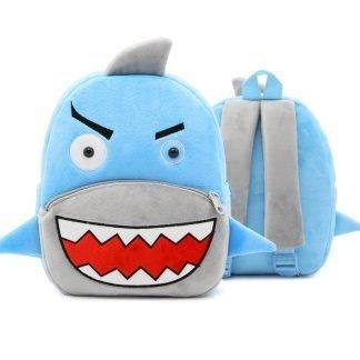 mochila infantil de tiburon