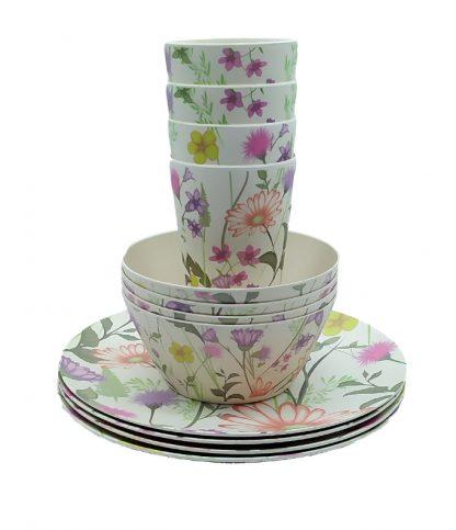 vajilla-bambu-flores-12-piezas-janabanana