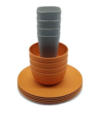 vajilla-bambu-naranja-12-piezas-janabanana