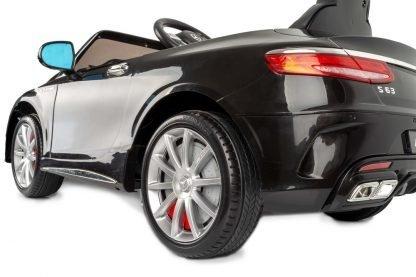 coche-electrico-radio-control-para-niños-para-niñas-mercedes-negro