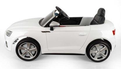 coche-electrico-audi-con-radio-control-para-niños-blanco-comodo-bateria-asiento-juguete