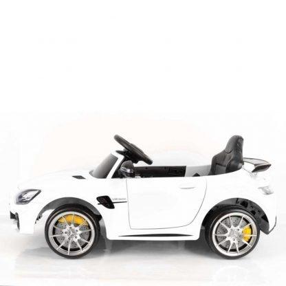 coche-electrico-para-niños-mercedes-blanco-descapotable