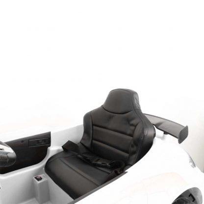 coche-electrico-para-niños-mercedes-blanco-descapotable-amg-comodo