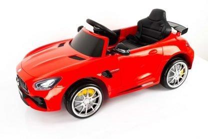 coche-electrico-rojo-mercedes
