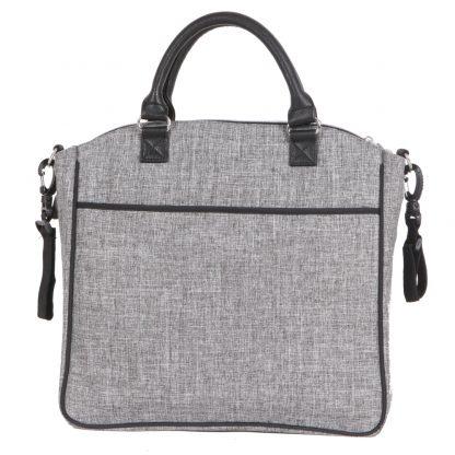 Bolso para-bebé-QPlay-Practical-gris-claro-carro-bebe