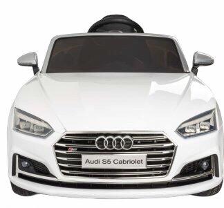 Coche Eléctrico Audi de Alta Gama Blanco con Radio Control