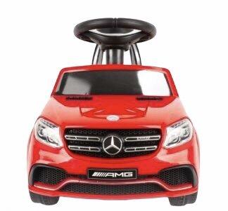 Coche Eléctrico Mercedes con Radio Control Rojo